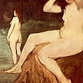 Bathers On Seine by Edouard Manet