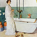Bathroom Scene Lisbeth by Carl Larsson