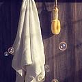 Bathroom Towel by Amanda Elwell
