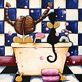 Bathtime Angels by Lucia Stewart