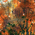 Batik Style/new England Fall-scape No.34 by Sumiyo Toribe