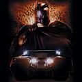 Batman Begins - Batman And Tumbler by Brand A