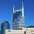 Batman Building And Nashville Skyline by Dan Sproul