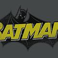 Batman - Classic Comic Logo by Brand A