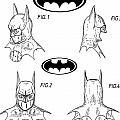 Batman Face Guard by Dan Sproul
