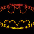 Batman - Flame Outlined Logo by Brand A