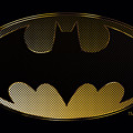 Batman - Halftone Bat by Brand A