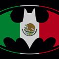 Batman - Mexican Flag Shield by Brand A