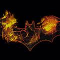 Batman - Molten Logo by Brand A