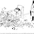 Batman Stands In The Filthy Room Of A Fat by Edward Steed