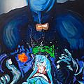 Batman Vs Joker by KWC Art