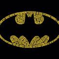Batman - Word Logo by Brand A