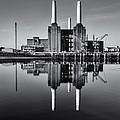 Battersea Reflection by Stuart Gennery