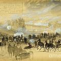 Battle At White Oak Swamp Bridge by Celestial Images