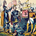 Battle Of Bosworth, Henry Vii Crowning by British Library