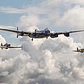 Battle Of Britain - Memorial Flight by Pat Speirs