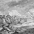 Battle Of Lexington, April 19th 1775, From Recueil Destampes By Nicholas Ponce, Engraved by Francois Godefroy