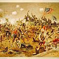 Battle Of Spotsylvania Thure De Thulstrup by MotionAge Designs