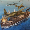 Battle Of The Bismark Sea by Michael Hagel