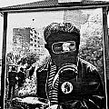 Battle Of The Bogside Mural II by Nina Ficur Feenan