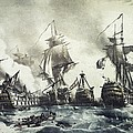 Battle Of Trafalgar, 21st October 1805 by Everett