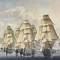 Battle Of Trafalgar by Robert Dodd