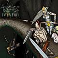 Battle On The Stone Bridge by James Kramer