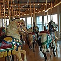 Battle Ship Cove Carousel by Barbara McDevitt