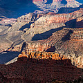 Battleship Rock At The Grand Canyon by Ed Gleichman