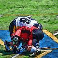 Battling For The Ball by Joe Bledsoe