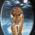 Batukhan Snow Leopard by Lora Duguay