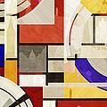 Bauhaus Rectangle Three by Big Fat Arts
