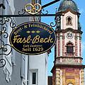 Bavarian Bakery Sign  by Carol Groenen