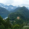 Bavarian Lake With Castle by Carol Groenen
