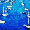 Bay Boats by J S Watson