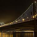 Bay Bridge And Fog  by John Daly