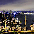 Bay Bridge East Span With Yachts by Jerome Obille