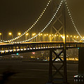 Bay Bridge Fog by Bryant Coffey