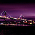 Bay Bridge Purple Haze by Digital Kulprits