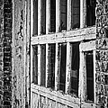 Bay Door In B/w by Greg Jackson