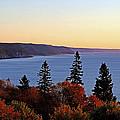 Bay Of Fundy Coastline - New Brunswick Canada by Derek Grant