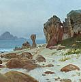Bay Of Monterey by Albert Bierstadt