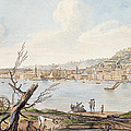 Bay Of Naples From Sea Shore by Pietro Fabris