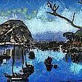 Bay View Morro Bay California by Barbara Snyder