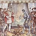 Bayard Presented To Henry Viii by Herbert Cole