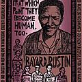 Bayard Rustin by Ricardo Levins Morales