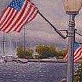 Bayfield On The 4th by Rick Huotari