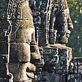 Bayon Faces - Angkor Wat - Cambodia by Luciano Mortula