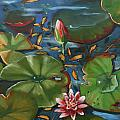 Lily Pond II by CB Hume