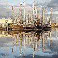 Bayou Labatre' Shrimp Boat Reflections 22 by Jay Blackburn